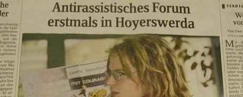 Artikel in der Sächsischen Zeitung zum FASS 2008