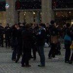 Flashmob gegen die Kürzungen in der sächsischen Jugendhilfe