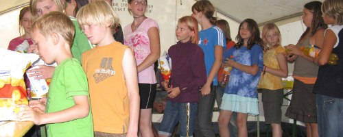 Genossenschaftskiosk im KidsCamp 2008