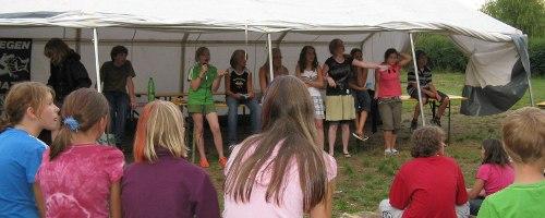 Vollversammlung im KidsCamp 2008