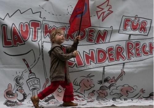 Laut werden für Kinderrechte!