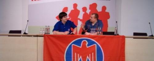 Falken beim SPD-Zukunftskonvent