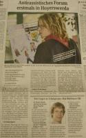 Bericht in der Sächsischen Zeitung vom 24.11.08 über das FASS